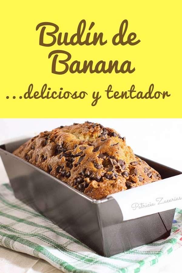 Budín de banana pt