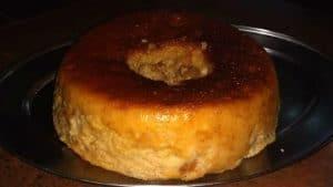 Budín de pan por Olga Segovia