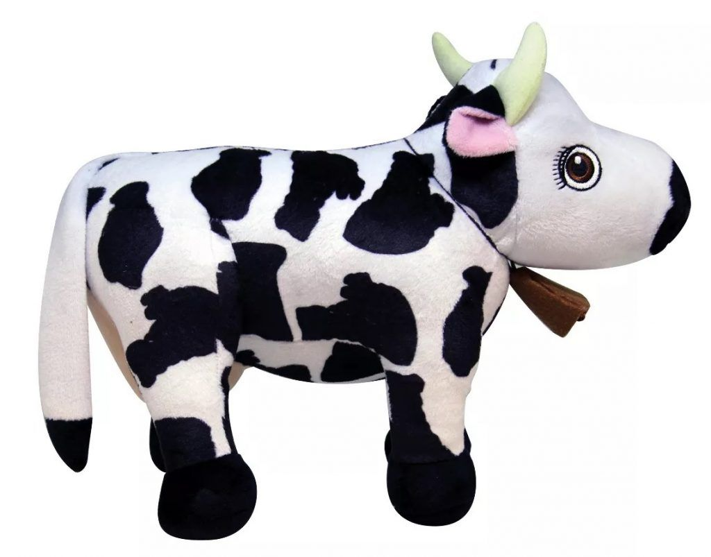 Peluche musical de la vaca Lola
