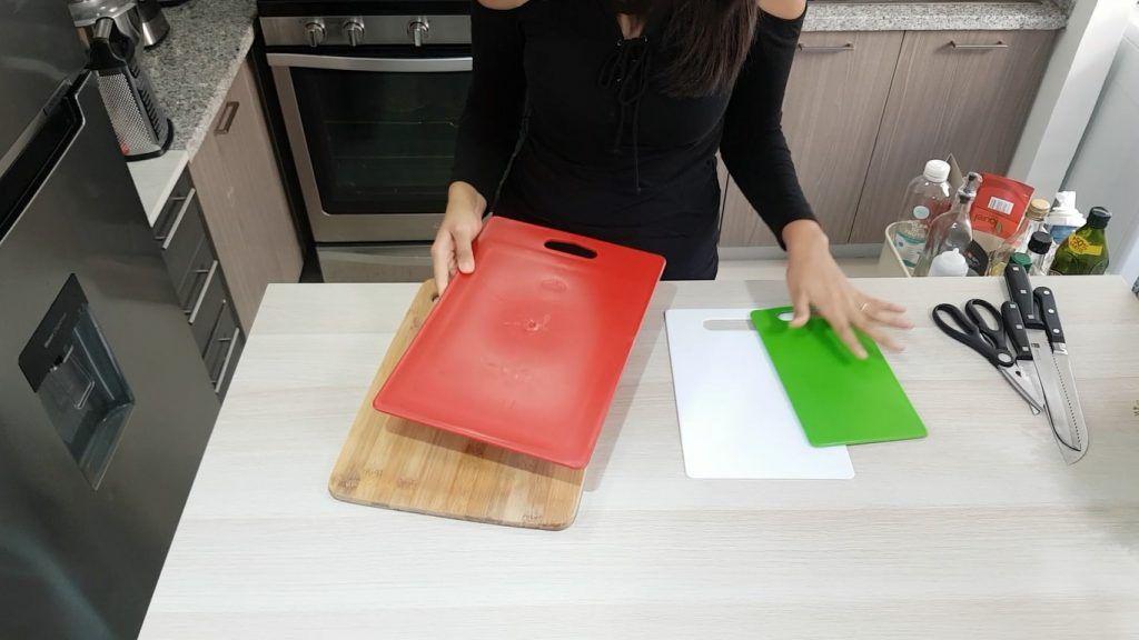Utensilios de cocina tablas de cocina