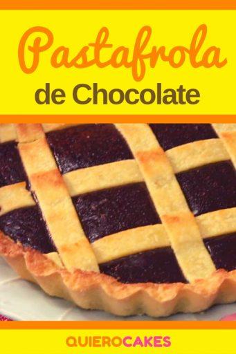 Pastafrola de chocolate