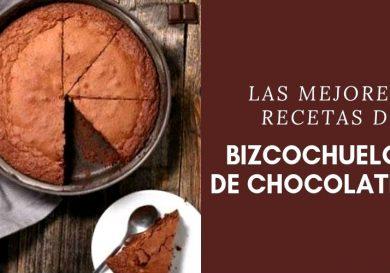 Bizcochuelo de chocolate