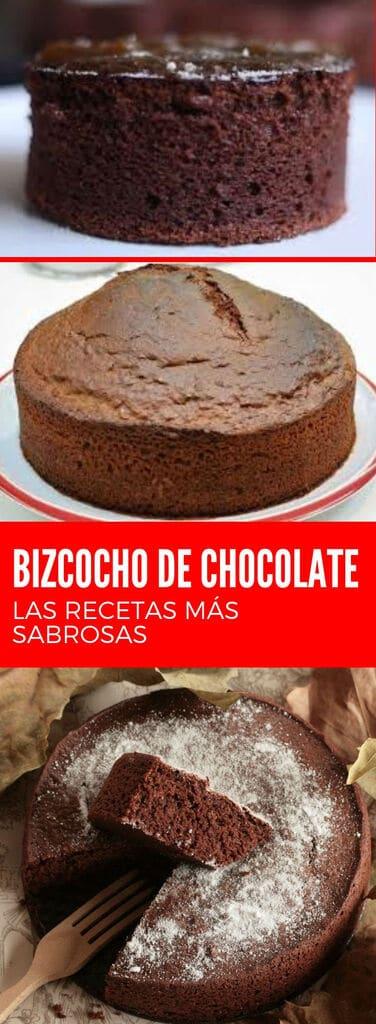 Cómo hacer un bizcocho o bizcochuelo de chocolate