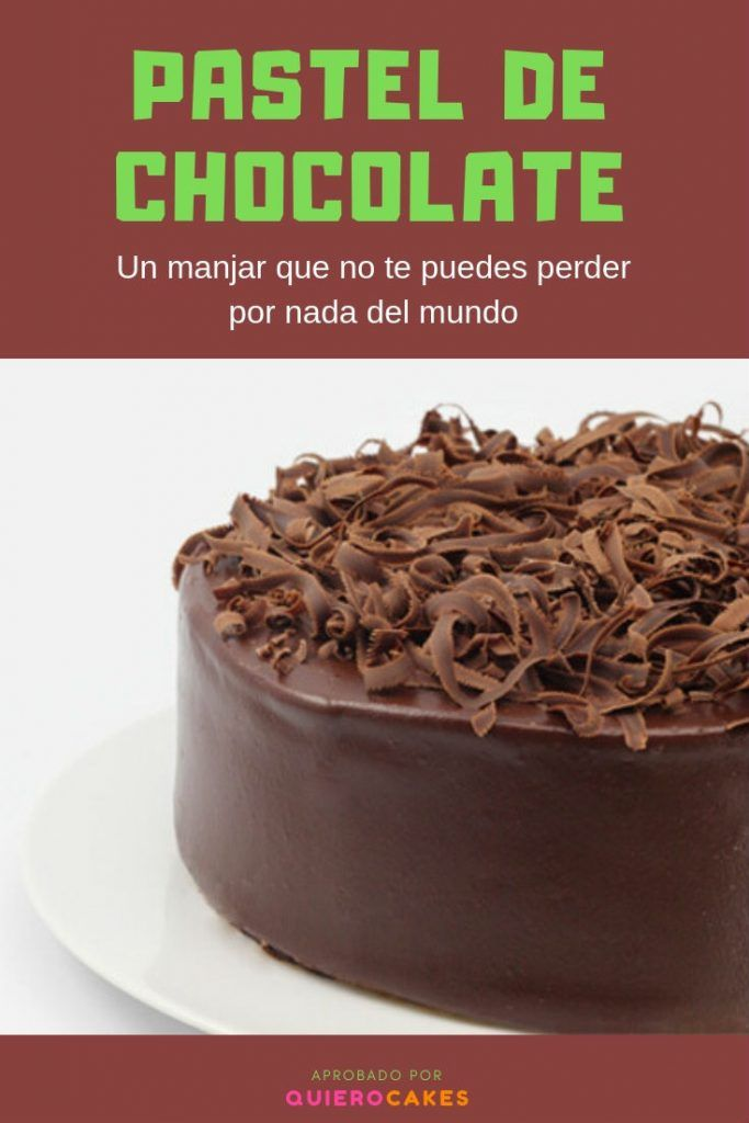 Pastel de chocolate pt