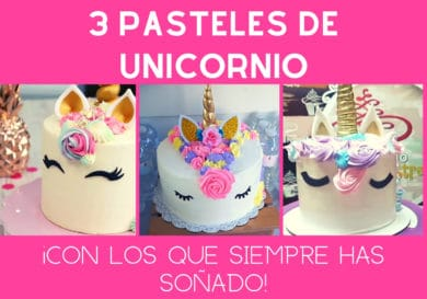Pasteles de unicornio