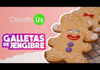 Galletas DE JENGIBRE - FACÍL - Claudio Us galletas de navidad