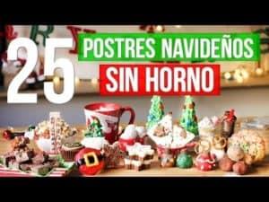 25 Postres para Navidad SIN HORNO