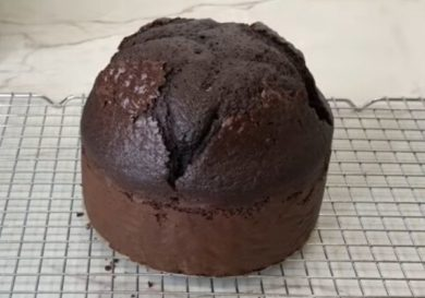 Bizcocho de chocolate ¡Un pastel muy especial!