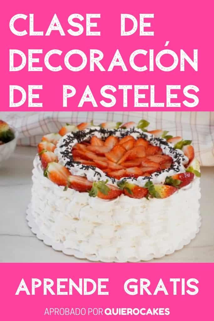 Clase de decoración de pasteles