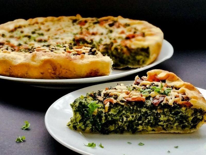 Tarta de kale