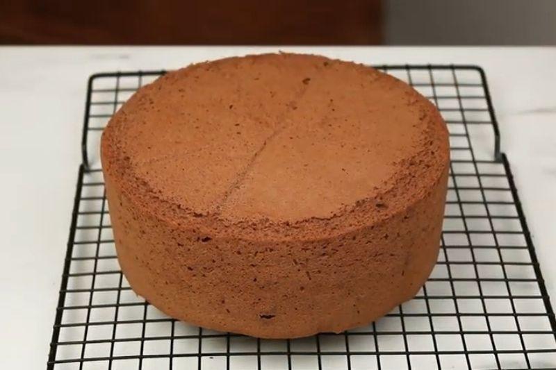 Bizcochuelo de chocolate con Nesquik