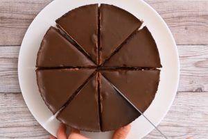 Torta sin huevo de chocolate