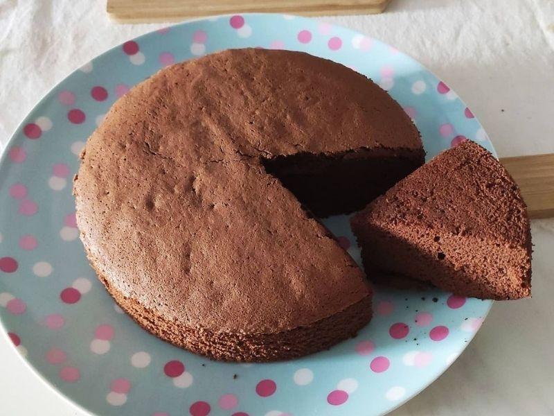 Torta sin harina de chocolate
